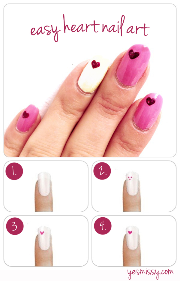 Pink-and-White-Nail-Art