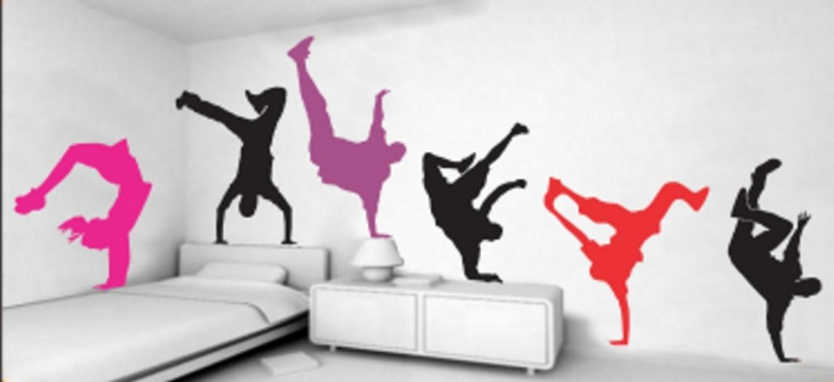 Decoraci n de paredes con vinilos ideas - Decoracion vinilo pared ...