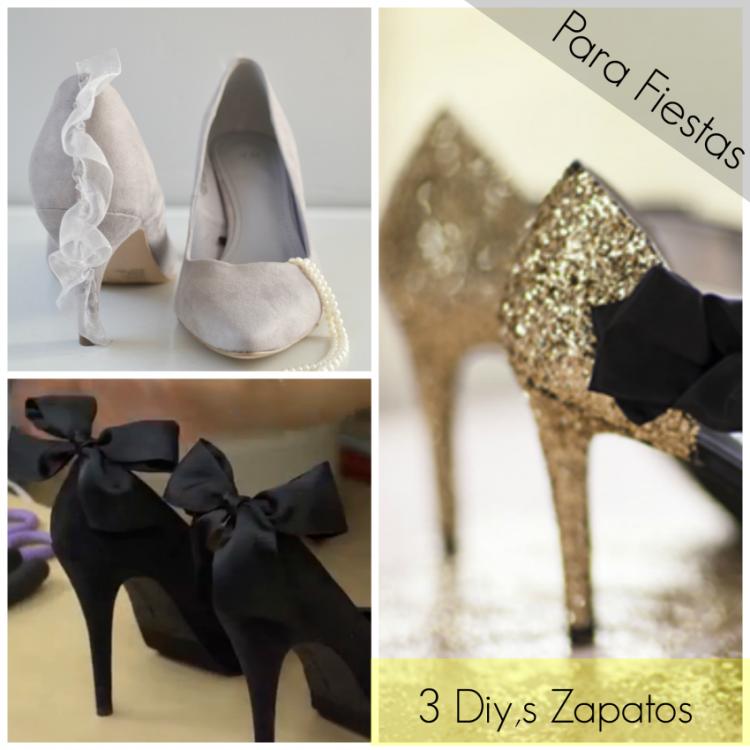 Como Tunear Zapatos para las Fiestas