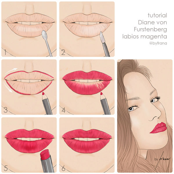 tutorial-dvf-magenta-lips-tutorial-paso-a-paso-tendencias-maquillaje-otono-invierno-2014