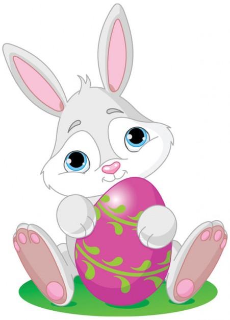Imágenes con conejos de pascuas para WhatsApp: Tarjetas con ...