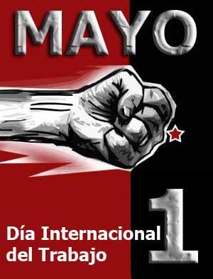 Afiche Día Internacional del Trabajo