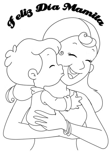 dia-de-la-madre-para-colorear-mamá