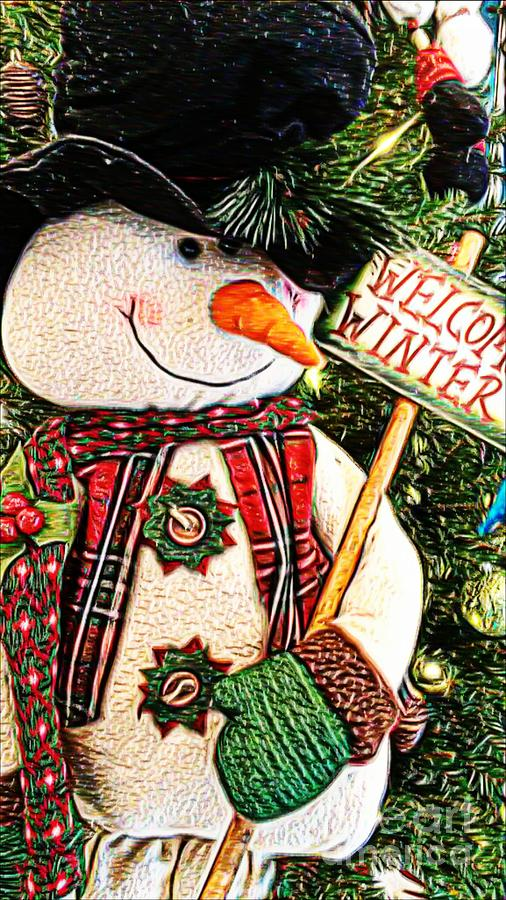 welcome-winter-snowman-michelle-frizzell-thompson