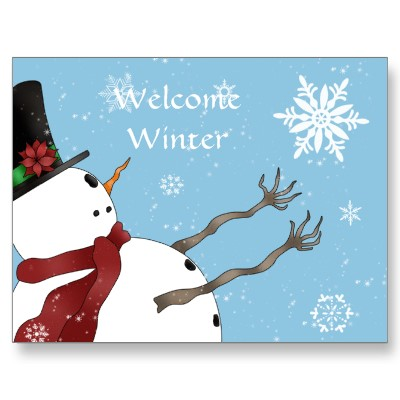 welcome_winter_snowman_post_card_postcard-p239252504493155258qibm_400