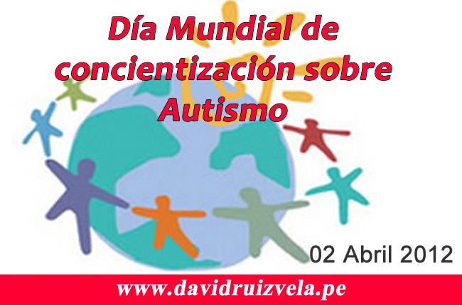 David Ruiz Vela dia del autismo