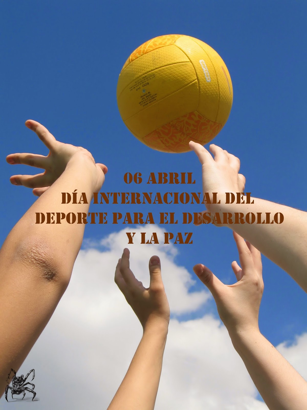 Dia Internacional del deporte para el desarrollo y la paz