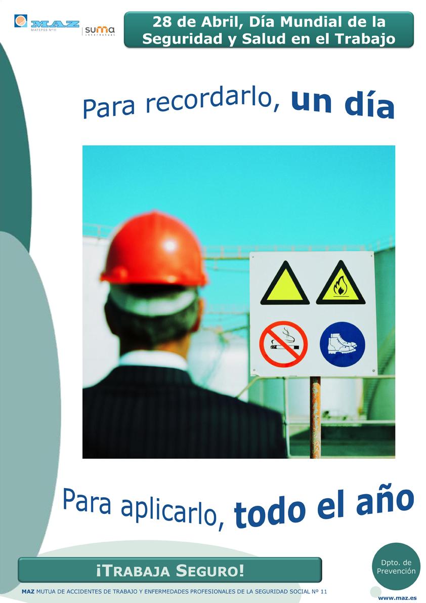 28 de Abril, Día Internacional de la seguridad y Salud en el Tr
