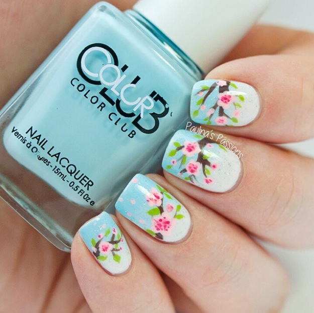 Blossoms-Spring-Nails