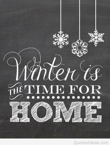 Hello-December-Hello-Winter-its-time-for-home-quote