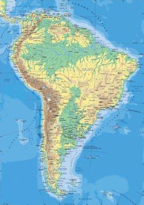 Informacion E Imagenes Con Mapas De America Politico Y Fisico