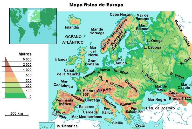 Worksheet. Informacin e imgenes con mapas de Europa  Imgenes y Noticias