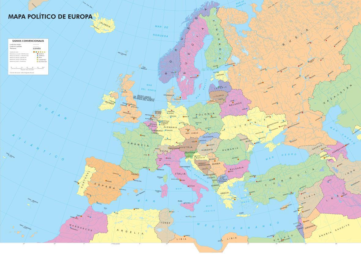 Informacin e imgenes con mapas de Europa  Imgenes y Noticias