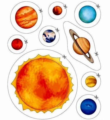 Imágenes del Sistema Solar, planetas, maquetas, dibujos ...