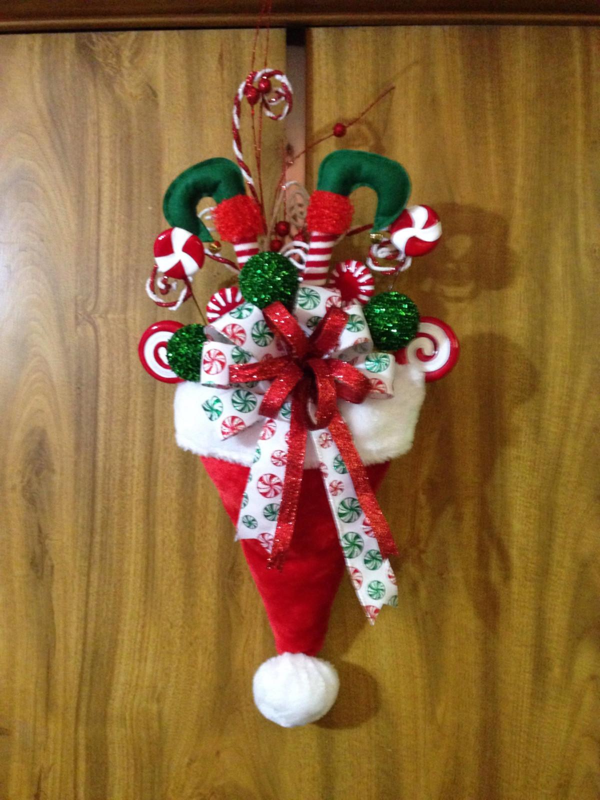 Decoraci n de navidad adornos arreglos rboles for Adorno navidad puerta entrada
