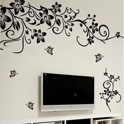 vinilo-decorativo-adhesivo-flores-mariposas