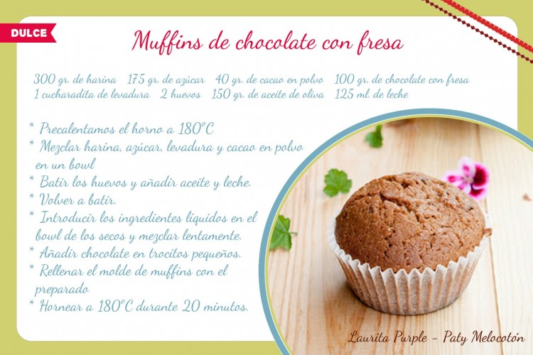 Receta Laurita Purple