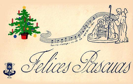 España-1960s-Felices-Pascuas-navideñas-con-música