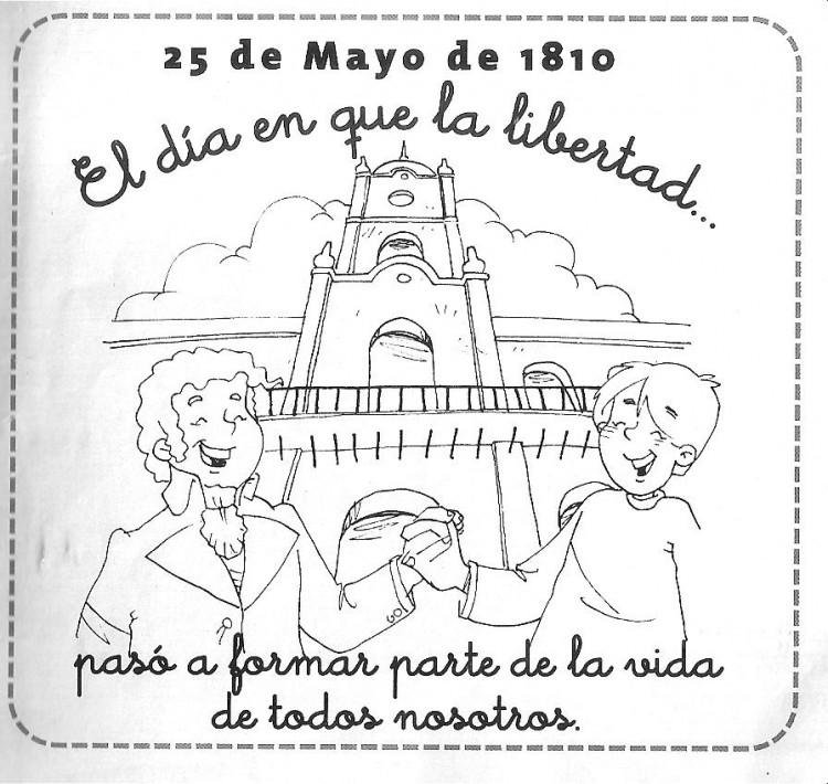 Postales Para El 25 De Mayo De La Revolución De Mayo Para