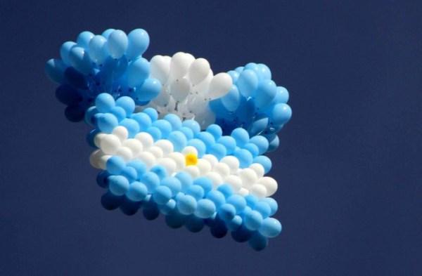Tarjetas del d a de la independencia en argentina para for Sala 9 de julio