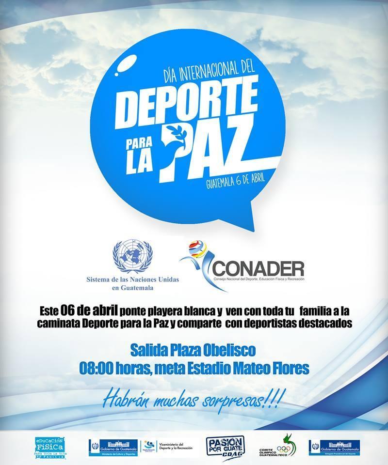 Dia internacional del deporte y la paz