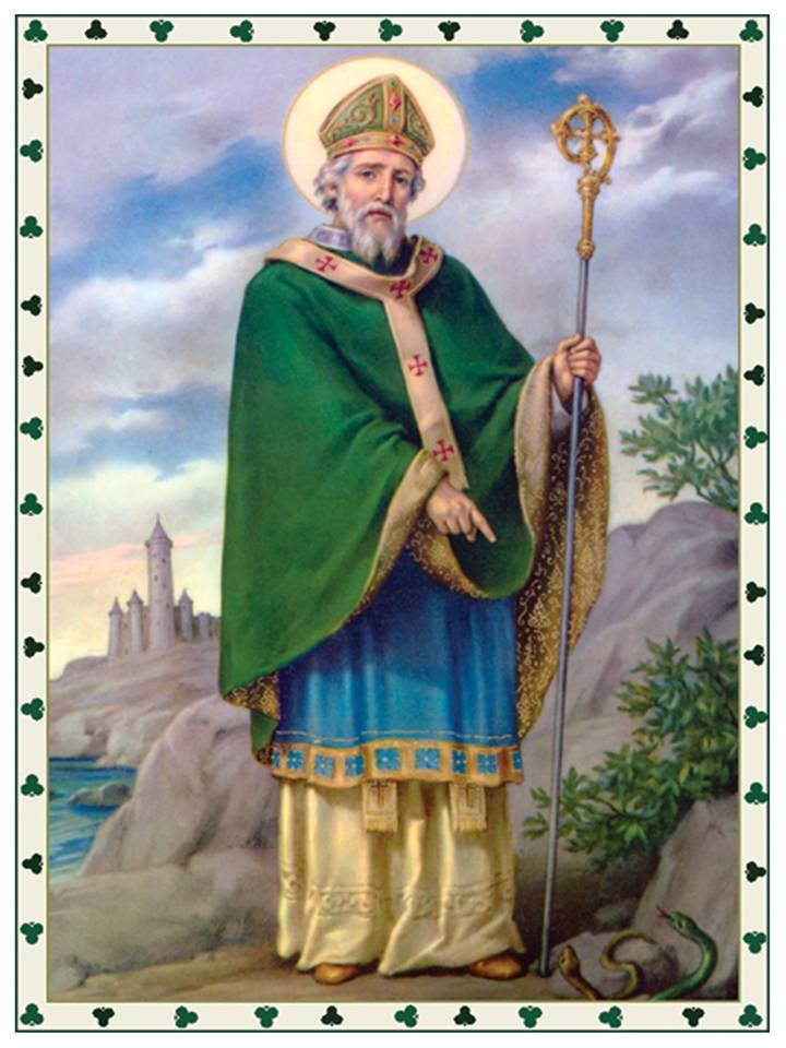 San Patricio oracion poderosa