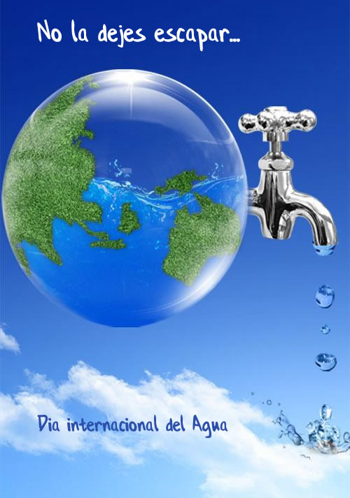 Imágenes para compartir del Día mundial del agua – 22 de marzo