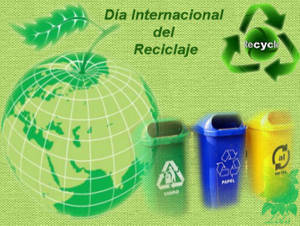 diseño libre lolapd 17 de mayo: Día Internacional del Reciclaje