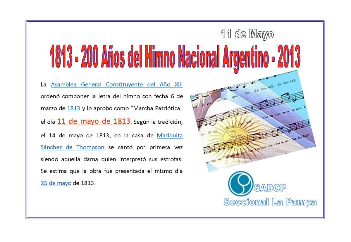 im u00e1genes del 11 de mayo d u00eda del himno nacional argentino