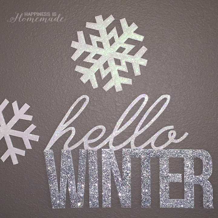 Glittered-Snowflakes-and-Hello-Winter-Words-from-Foam-Core