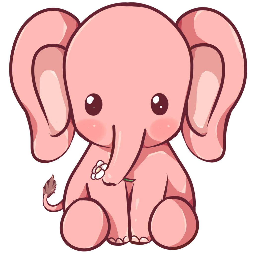 kawaii_elephant_by_dessineka-d9013mq