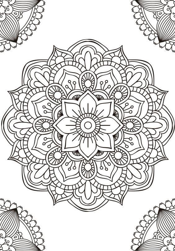 Imagenes De Mandalas De Colores Para Descargar E Imprimir