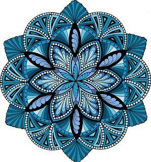 Im genes de mandalas de colores para descargar e imprimir - Mandala amour ...