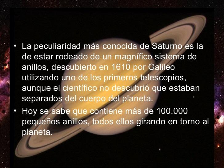 Planeta Saturno Imágenes Resumen E Información Para Niños