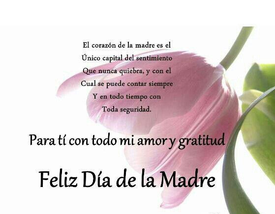 Imágenes Con Frases Para El Día De La Madre Y La Familia
