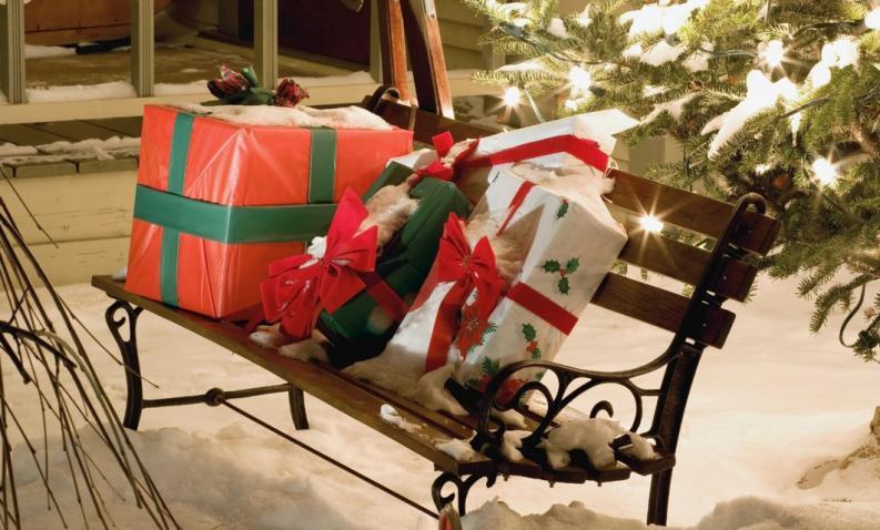 Decoraci n de navidad adornos arreglos rboles jardines for Adornos de navidad para jardin
