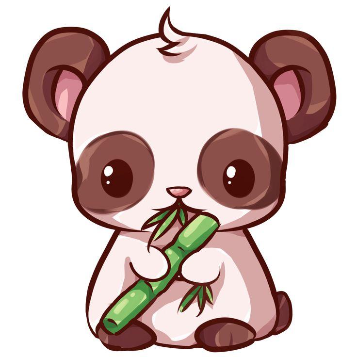 Im genes kawaii fotos y dibujos bonitos para descargar - Coloriage de panda kawaii ...
