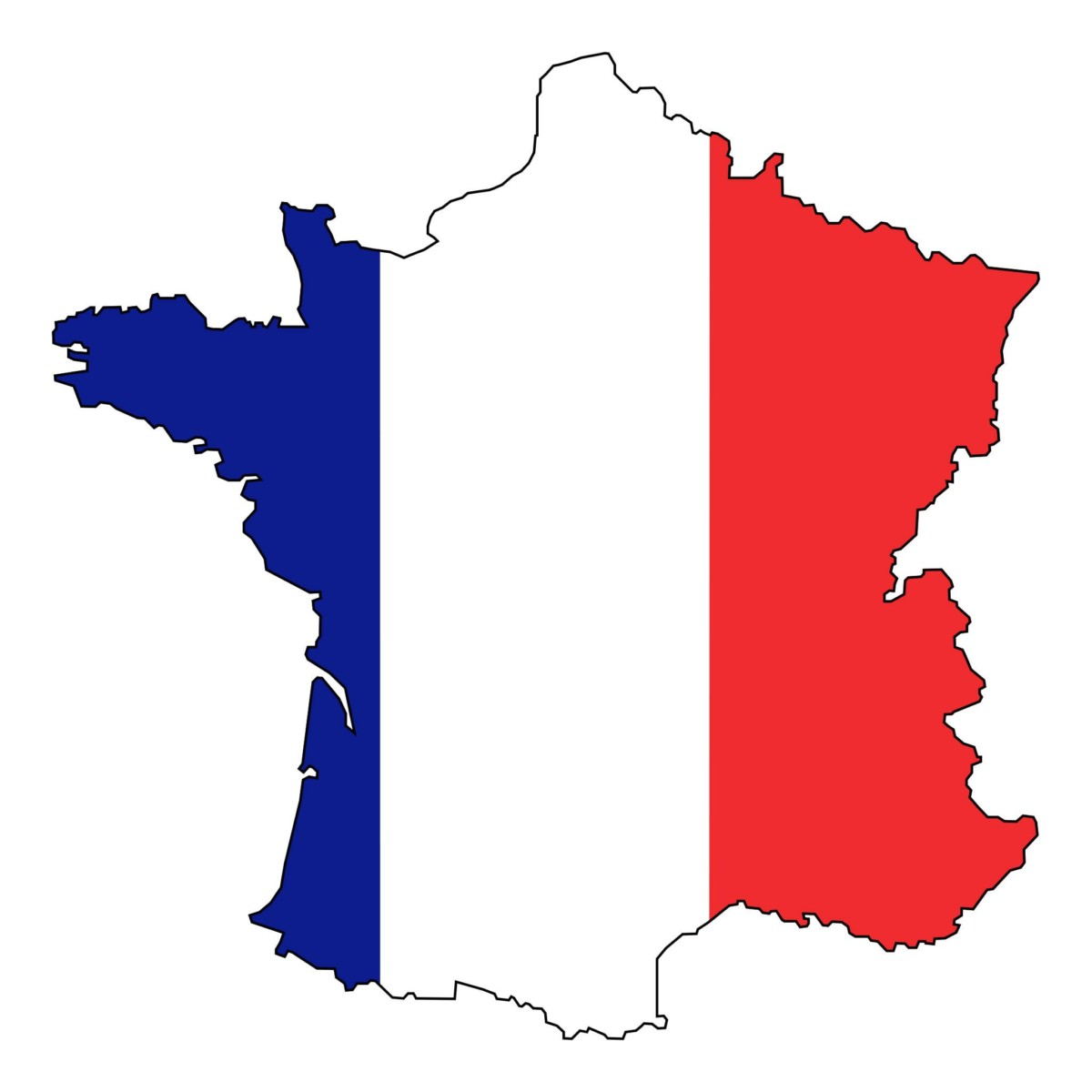 el significado de los colores de la bandera francesa