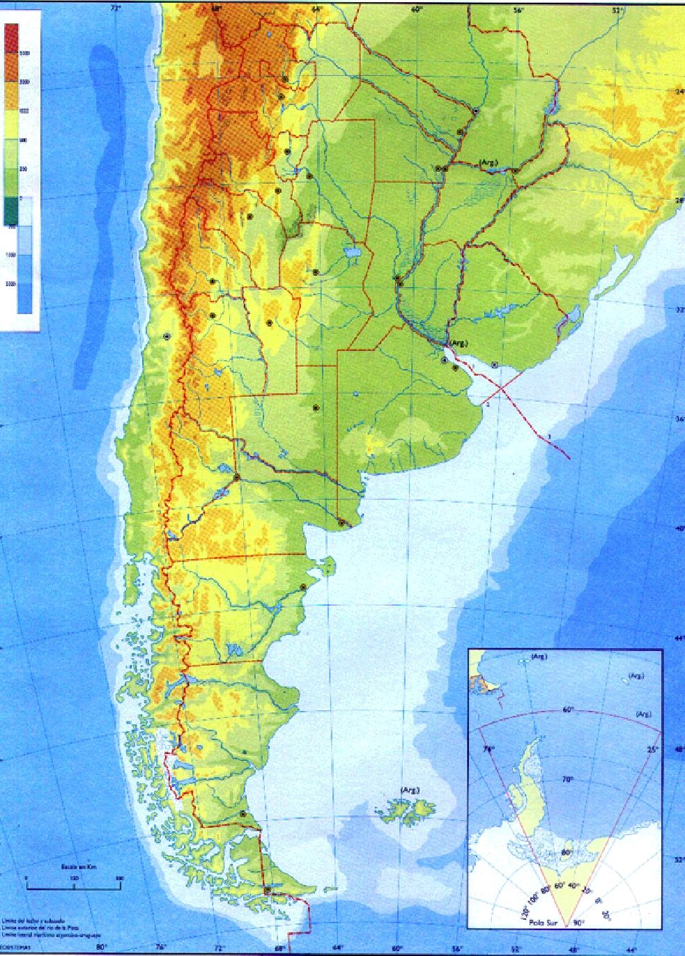 Mapas De Argentina Pol 237 Tico Y F 237 Sico Para Descargar E Imprimir