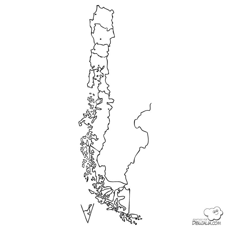 Información E Imágenes Con Mapas De Chile Político Físico Y