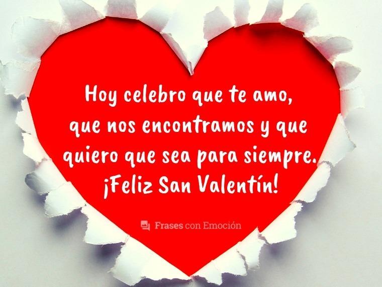 Día De San Valentín Felicitaciones E Imágenes De Amor